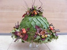 Deco Floral, Floral Cake, Floral Design, Workshop Design, Table Centers, Funeral Flowers, Simple Flowers, Ikebana, Flower Crafts