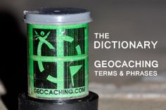 The #Geocaching Dictionary