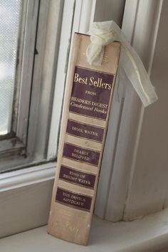 Book Spine  - book mark - as your save the date