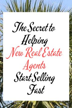 How do help new agents build a pipeline of leads and start closing deals quickly? Here are some tips to helping new real estate agents start selling fast. Real Estate Staging, Real Estate Career, Real Estate Leads, Real Estate Business, Real Estate Tips, Real Estate Investing, Real Estate Marketing, Business Motivational Quotes, Business Quotes