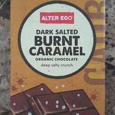 Buttery goodness! #altereco #darksaltedburntcaramel #chocolate #bars #organic #darkchocolate #70% #salt