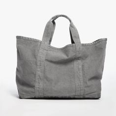 James Perse Large Canvas Tote - Charcoal O/S Bags Online Shopping, Online Bags, Shopping Bag, Handbag Online, Types Of Handbags, Purses And Handbags, Cheap Handbags, Luxury Handbags, Popular Handbags