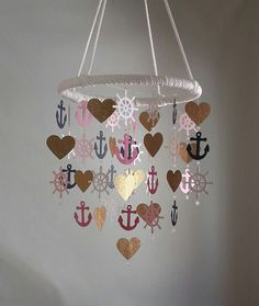 Hey, I found this really awesome Etsy listing at https://www.etsy.com/pt/listing/229565208/navy-pink-gold-glitter-helm-heart-girl