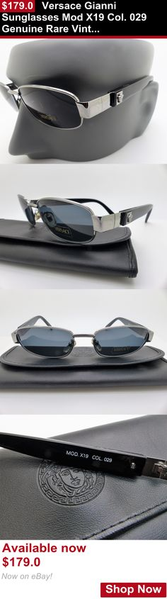 aac4274d9bd2 Vintage accessories  Versace Gianni Sunglasses Mod X19 Col. 029 Genuine  Rare Vintage New Old Stock BUY IT NOW ONLY   179.0