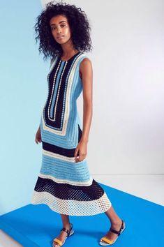 Геометрия крючком Novis Spring 2017 - Модное вязание - Вязание спицами и крючком