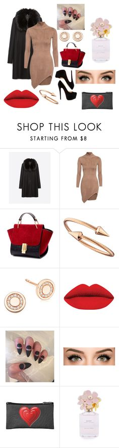 """""""Date Night<3"""" by worthen-ava on Polyvore featuring Zara, Christian Louboutin, Jules Smith, Astley Clarke, Marc Jacobs, women's clothing, women's fashion, women, female and woman"""