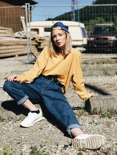 oldschool • streetstyle • yellow • cap