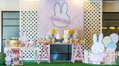 Miffy-themed Birthday Party http://babyandbreakfast.ph/2015/07/27/miffy-bunny-bash/ | Photo and Styling: Party Deco