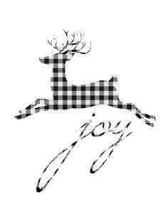 Free reindeer buffalo check printables. Lots of options to choose from!