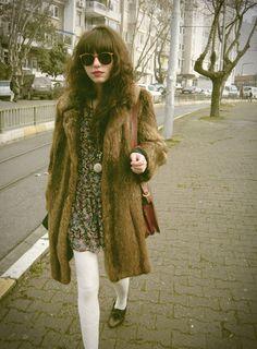 vintage fashion. loving it