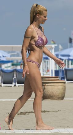 931d60ab6d Michelle Hunziker - in Forte dei Marmi July 2016