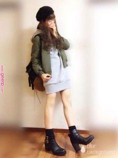 Love Fashion, Korean Fashion, Girl Fashion, Womens Fashion, Kawaii Girl, Kawaii Style, Girl Outfits, Cute Outfits, Kawaii Fashion