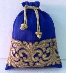 Ink Blue colour  Designer Clutches : Navishka Collection -  YF-43131