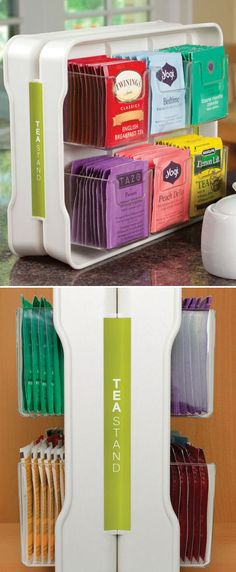 Teastand Tea Bag Organizer