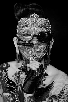 Artist collaborations with Joshua David of Majesty Black, Sequoia Emmanuelle, Mariel Noir, and Karis Wilde. Photography by Sequoia Emmanuelle. Fashion available at the Residency Showroom, Hollywood, CA. Make-up sponsored by Kat Von D Beauty Make-up...