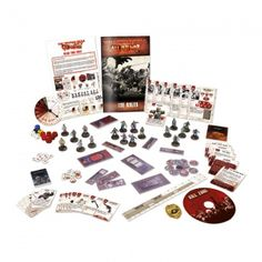 THE WALKING DEAD: ALL OUT WAR CORE SET (INGLES). Juego de miniaturas en INGLÉS.All Out War is a game of fast-paced, head-to-head skirmishes in th