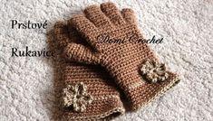 Návod na háčkované prstové rukavice