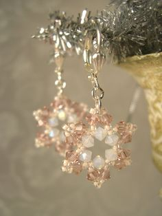 Swarovski Snowflake Earrings http://www.ecrafty.com/casearch.aspx?SearchTerm=snowflake http://www.ecrafty.com/c-963-christmas-holiday-charms.aspx