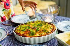 Hummus & Pannkaka: Lax- och spenatpaj
