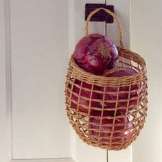 Shakers Gift Shop — Onion Basket $22