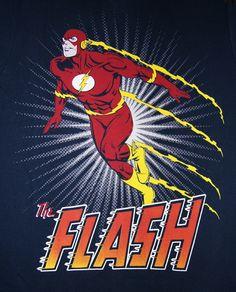 original MARVEL COMICS Herren T Shirt THE FLASH SPRINT