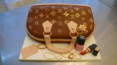LV Bag with Chanel makeup cake by CAKE Amsterdam - Cakes by ZOBOT, via Flickr