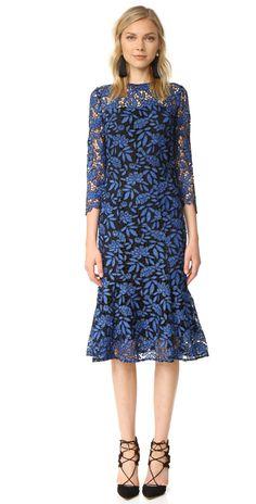 Shoshanna Two Tone Lace Dress | SHOPBOP