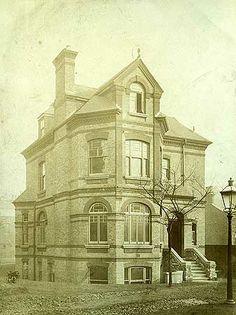 London Hospital, Chaplains House, Whitechapel 25 Feb 1887 via English Heritage