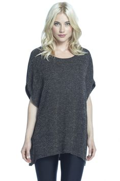 Hamilton Oversized Short Sleeve Sweater FINAL SALE
