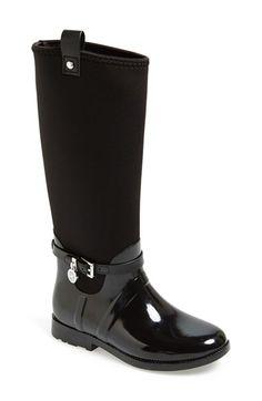 MICHAEL Michael Kors Charm Stretch Rain Boot (Women) (Nordstrom Exclusive) available at #Nordstrom ~~~   ( ɪ'ᴍ ʀᴇᴀᴅʏ ғᴏʀ ᴡɪɴᴛᴇʀ!)