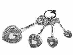 Ganz Measuring Spoons - Hearts $18.95