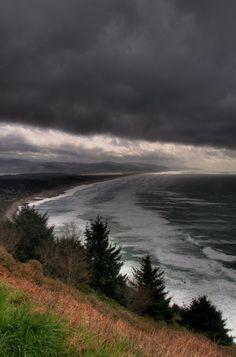 Storm, Oregon Coast by DocNougat