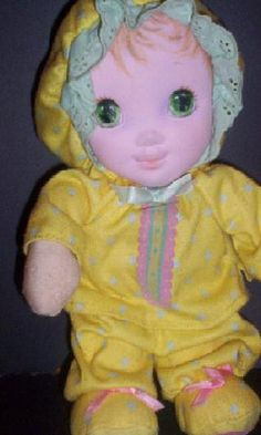 The doll that started it all... My daughters all out, can't live without, die if we ever lost it, Jammie Pie doll.  :)