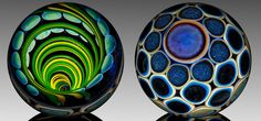 Timothy Keyzers amazing glass marbles are truly amazing.