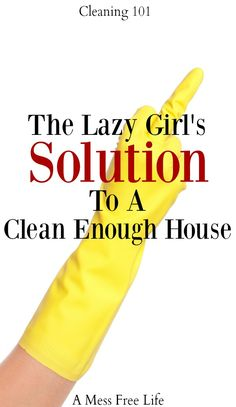 Feeling lazy about housework? Here are the simple solutions you need to keep your home clean and tidy. When clean enough has to be good enough. Cleaning | Home | House | Tips | Hacks | Decluttering | Organizing |