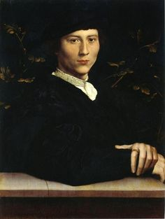 Portrait of Derich Born - Hans Holbein the Younger, 1533