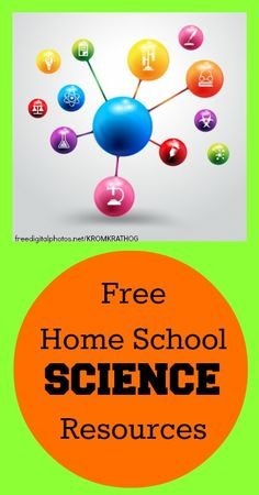 Free Homeschool Science Resources Free Home School Resources: Science – Our Small Hours Elementary Science, Teaching Science, Science For Kids, Teaching Kids, Science Fun, Science Experiments, Summer Science, Science Ideas, Science Lessons