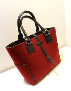 Fashion vintage 2013 fashion wool woolen cross-body handbag one shoulder big bag picture package bucket bag