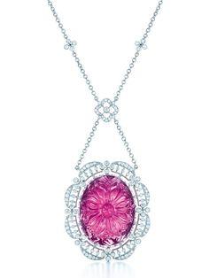 Tiffany Rubellite Necklace