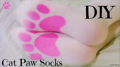 DIY Cat Paw Tights/Socks