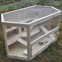 homemade hamster cages | Reptile Cage, Made of Quality Fir Wood, Sized 115 x 60…