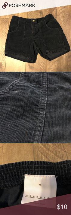 Corduroy shorts Love these shorts! Corduroy shorts! Let me know if you have anymore questions! American Apparel Shorts Flat Front