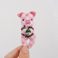 This vegan piggy is flying to his new home in Tennessee! #vegan #eatyourveggies #plushie #miniature #pig #piggy