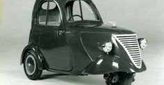 DAF 1 person city car (1941) . Is it just me or does this has gangster writen all over it - in a funny kind of way for http://ift.tt/2gUqHTb