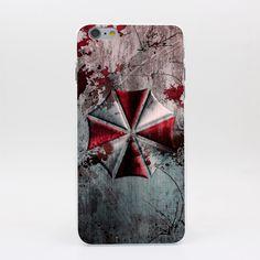 Resident Evil Hard White Case Cover for iPhone
