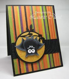 Owl punch Halloween Card!