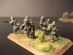 Flames of War, 15mm  SS Panzergrenadier, MG Team