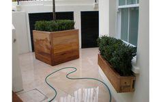 Contemporary Wooden Garden Planters - Essex UK, The Garden Trellis Company