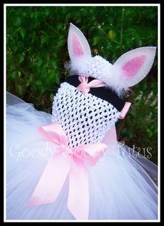 BUNNY EARS Glittery Felt Bunny Ear Hair Clips by goodygoodytutus
