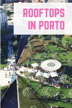 Discover the amazing #rooftops of #Porto, fantastic #spots to grab a #drink and take #photos to remember your #holidays in #Portugal.